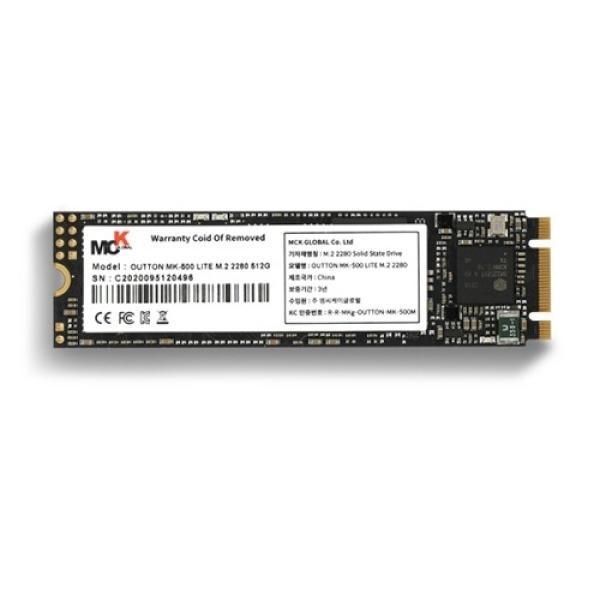 OUTTON MK-500 LITE series M.2 2280 512GB TLC