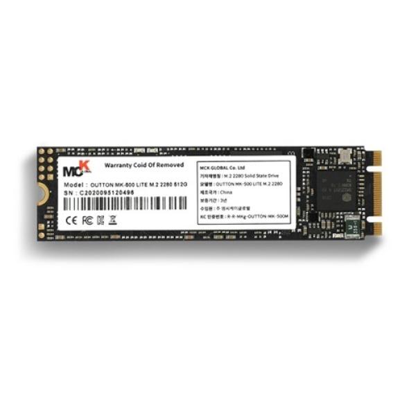 OUTTON MK-500 LITE series M.2 2280 256GB TLC