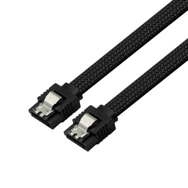마하링크 SATA3 그물망 Lock 케이블 [0.5M/블랙] [ML-S3MBK]