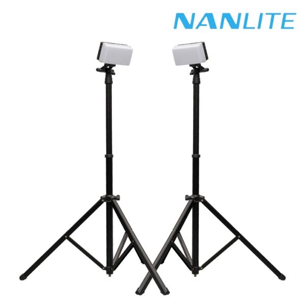[NANLITE ] 리토라이트 5C 롤리팟H 미니조명 투 스탠드 세트