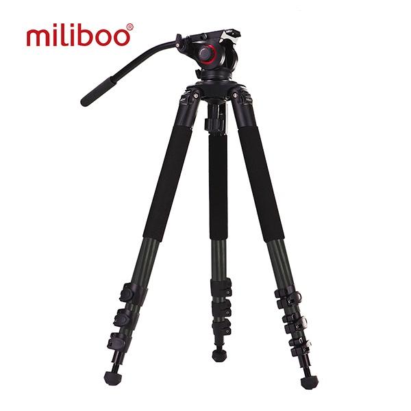 밀리부 MTT701B 카본 비디오 삼각대 볼헤드 키트