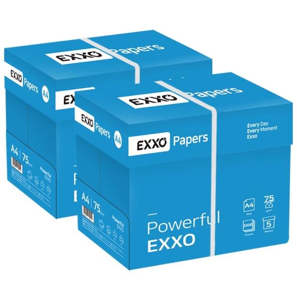 엑소(EXXO) A4 복사용지 75g 2Box (5000매) [무료배송]