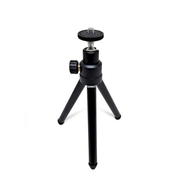 디알고 TP01 메탈 3단 접이식 웹캠 카메라 방송용 삼각대