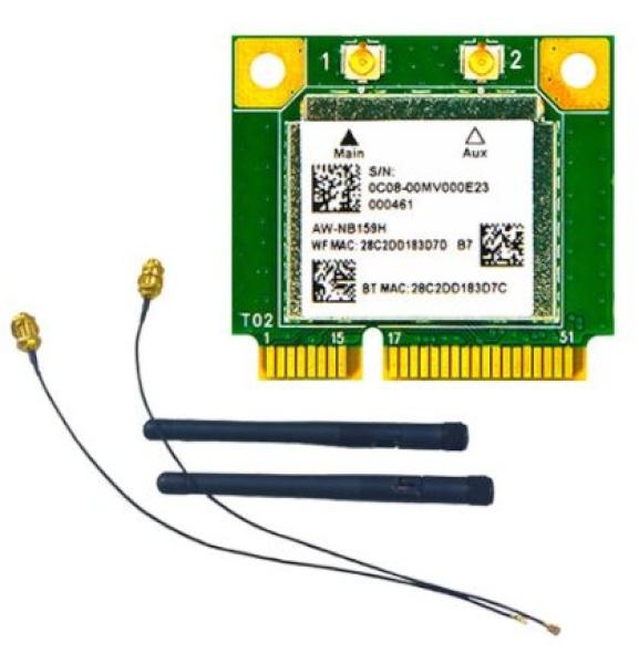 AzureWaveAW-NB159H 블루투스모듈+안테나+연결케이블