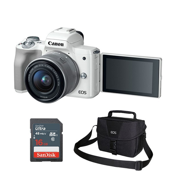EOS M50 15-45mm Kit [사은품:가방+16G메모리] [블랙]