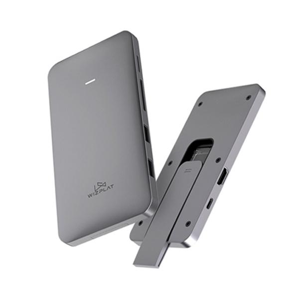 외장SSD, Pro X9 7in1 USB허브 PD [USB-C3.2] [하드미포함/스페이스그레이]