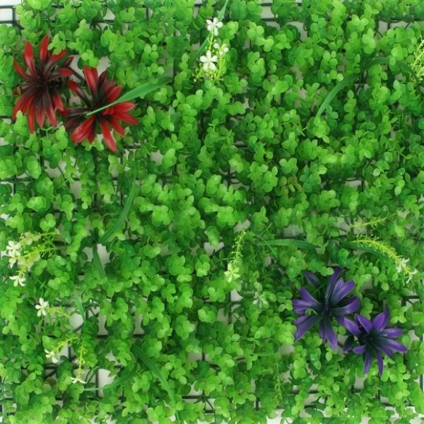 [GTS40486] 숲인테리어 초록꽃밭 벽장식 인조잔디(60x40cm)
