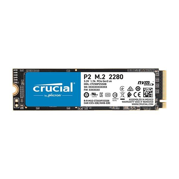 Crucial P2 M.2 NVMe 500GB QLC
