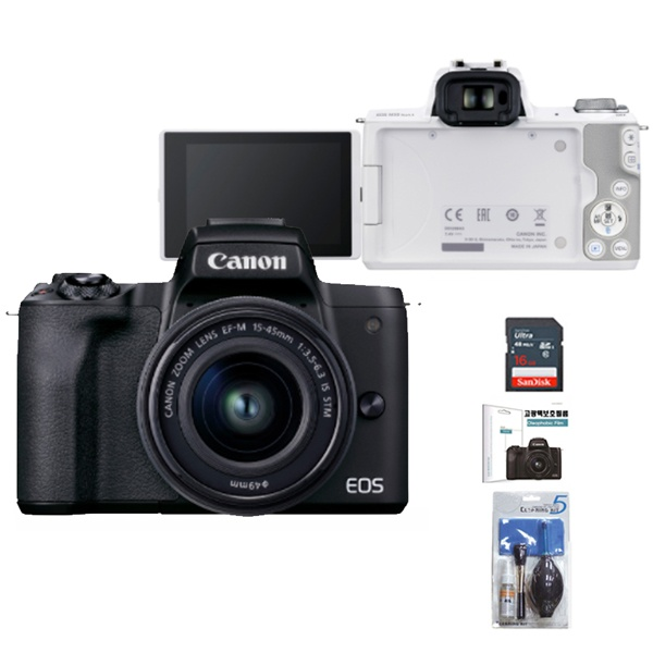 EOS M50 Mark ll(15-45KIT) +16G + LCD보호필름
