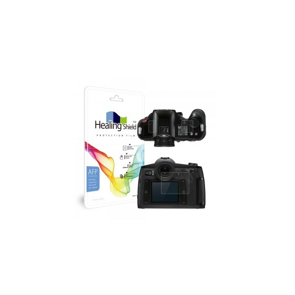 라이카 S Typ007 올레포빅 고광택 액정보호필름 2매(3중구성)