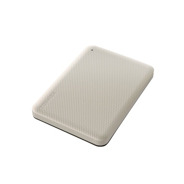 외장HDD, 칸비오 어드밴스 Gen2 (ADVANCE Gen2) [USB3.2/파우치증정] [인쇄/견적문의] 2TB [2TB/크림 화이트]