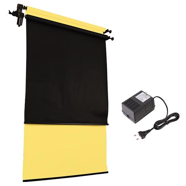 [전동배경] 벽면고정형 2롤 배경지세트 EH-02WR_Full SET(1.3m)