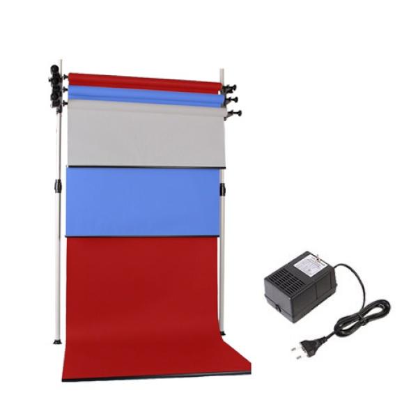 [전동배경] 디럭스폴 3롤 배경지세트 EPH-03WR (1.3m)