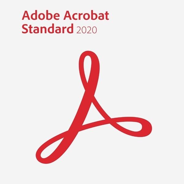 Acrobat Standard 2020 [공공기관용/라이선스/영구사용]