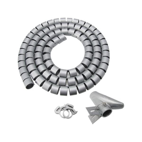NETmate 매직케이블 정리기, 1.5M NMWB-A15DG [소/15mm] [다크그레이]