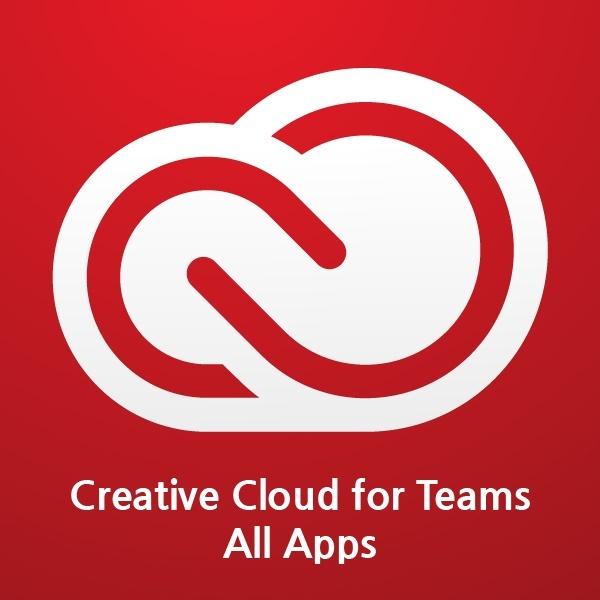 Creative Cloud for teams All Apps (CCT) [공공기관용/라이선스/1년사용]