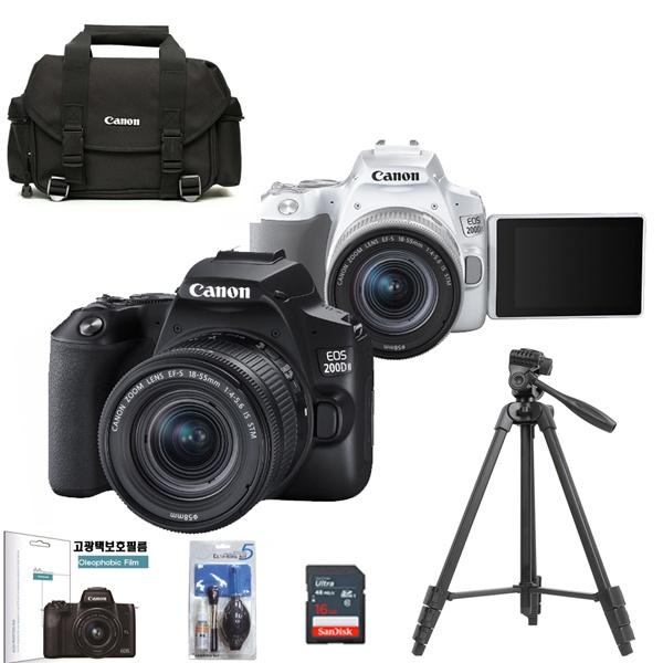 EOS 200Dll 18+55MM IS STM KIT+LCD보호필름+정품DSLR가방+크리닝킷+삼각대 +SD256GB 풀패키지