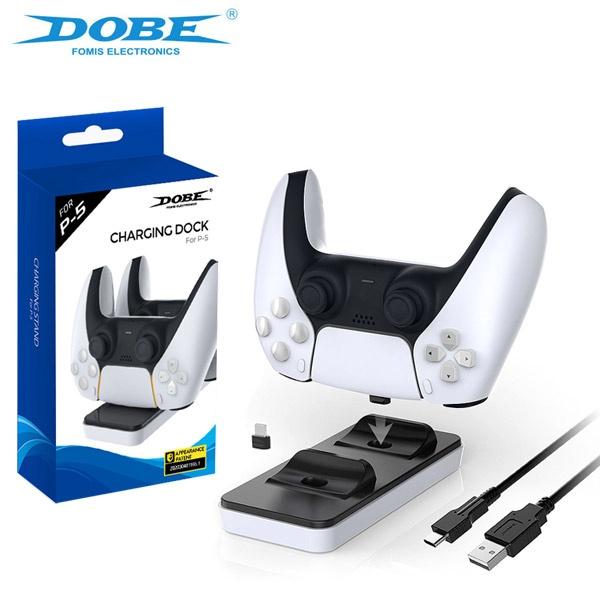 PS5 DOBE 듀얼센스 컨트롤러 차징독 젠더타입 / 충전거치대 / 스탠드