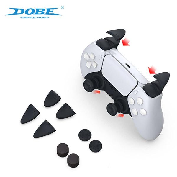 PS5 DOBE 듀얼센스 아날로그 캡 트리거 버튼쉴드 세트