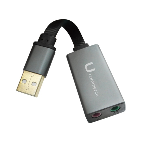 HI-FI USB 사운드카드 오디오 이어폰 마이크 헤드셋