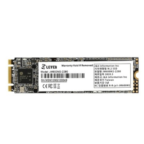 JM600 series M.2 2280 2TB TLC