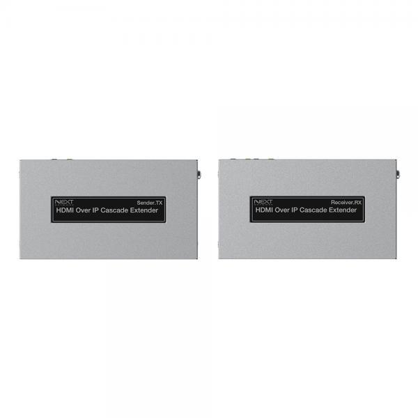 이지넷 HDMI 리피터 송수신기 세트, NEXT-470HDC [최대 170M/RJ-45]