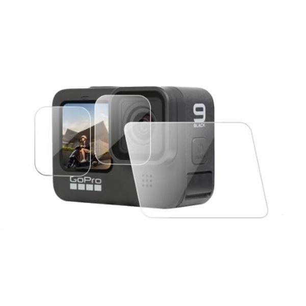 고프로 히어로9 고광택 고투명 LCD 액정보호필름 3매세트