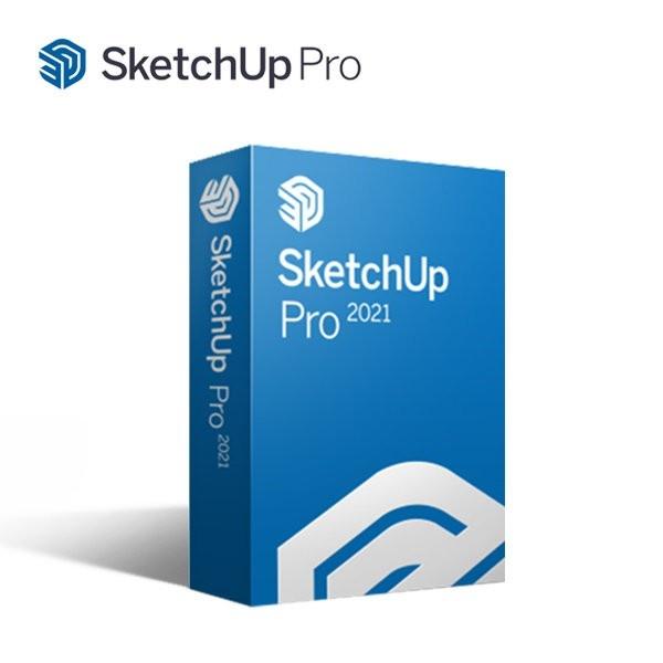 [한국인프라 정품] Sketchup Pro 2021 [기업용/라이선스/1년사용]