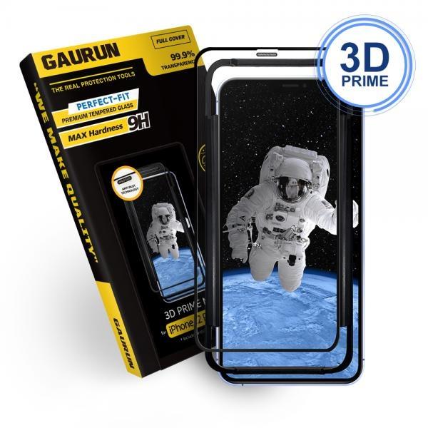 3D 프라임넷 강화유리 액정보호필름 1매 (케이스핏) [옵션 선택] [아이폰12프로/12]
