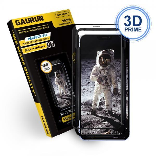 3D 프라임넷 강화유리 액정보호필름 1매 (케이스핏) [옵션 선택] [아이폰12미니]