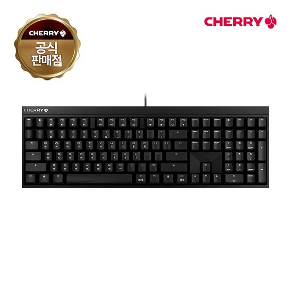 유선 기계식 키보드, MX BOARD 2.0S, G80-3820LXAKR-2, 넌클릭 갈축 [블랙/USB]