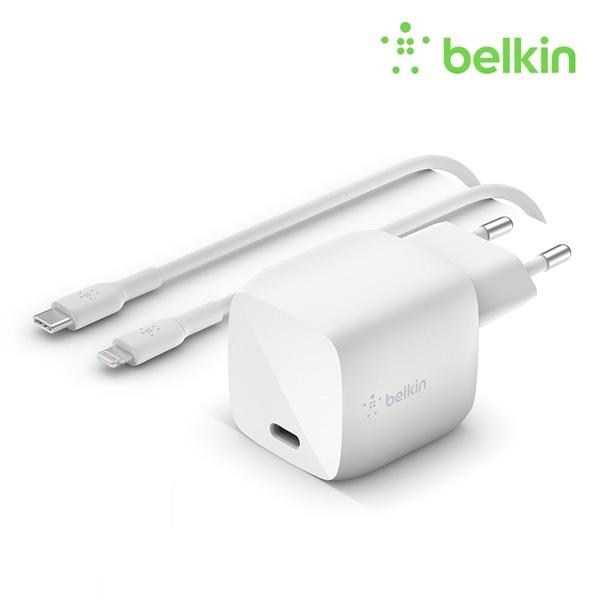 부스트업 30W USB-C GaN 고속 충전기 + C타입 to 라이트닝 케이블 WCH001kr1M