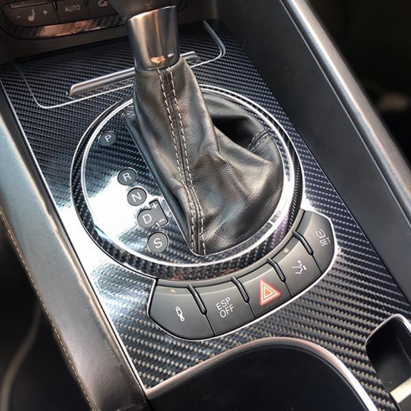 아우디TT TTS 2세대 실내 카본 데칼스티커 6D필름 [옵션 선택] 글로브박스(2WD)