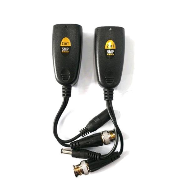 싸드 PV-515HD 500만화소 지원 UTP발룬 1채널 전원+영상 송수신기