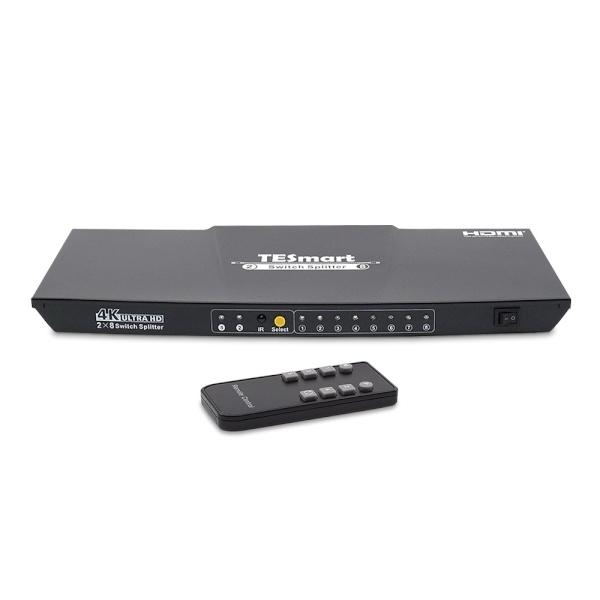 티이스마트 HSP0208A20 [모니터 선택 분배기/2:8/HDMI/4K/오디오 지원]