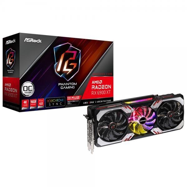 Radeon™ RX 6900 XT Phantom Gaming D OC D6 16GB 에즈윈