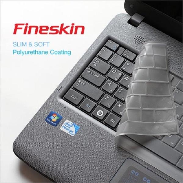 노트북키스킨, 14형 HP 파빌리온 x360 14-dw XX용 [HP 38/투명] [파인스킨]