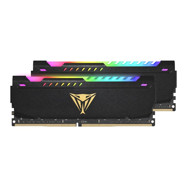 DDR4 16G PC4-28800 CL20 VIPER STEEL RGB (8Gx2)