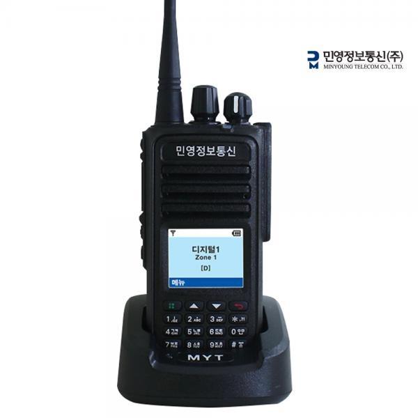 [민영정보통신(주)] MYT-D780U 한글 IP65방수방진 디지털무전기 DMR업무용