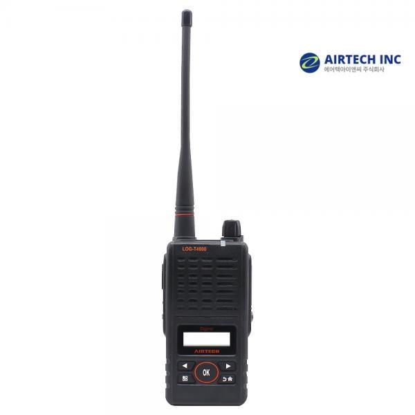 LOG-T4000 1024채널 디지털무전기 DMR업무용 IF54생활방수