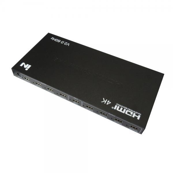 인네트워크 IN-20HD108A [모니터 분배기/1:8/HDMI/4K/오디오 지원]