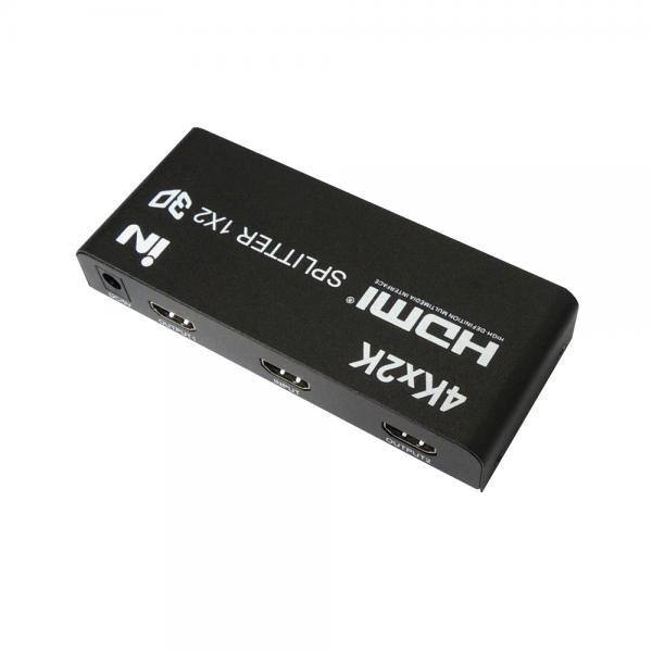 인네트워크 IN-HD102A [모니터 분배기/1:2/HDMI/4K/오디오 지원]