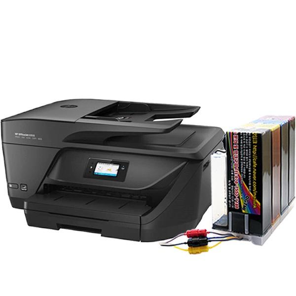 HP Officejet 6954 복합기 (병행수입) + 2000ml 무한공급기 [리퍼제품]