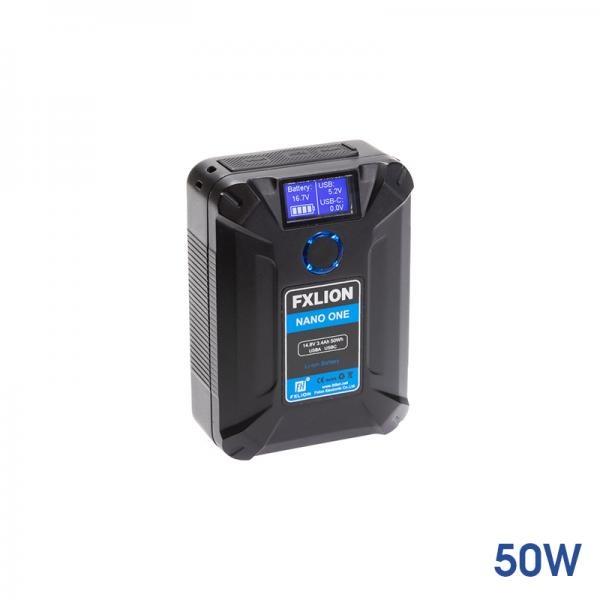 에프엑스리온 FXNANO1 [나노원 50Wh 14.8V 브이마운트배터리]
