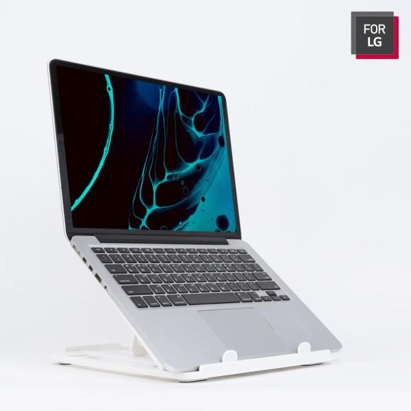 노트북받침대, LGC-NS100 [화이트]