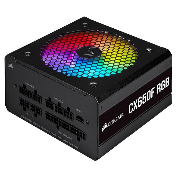 iCUE CX650F RGB (블랙) (ATX/650W)