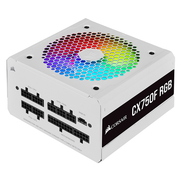 iCUE CX750F RGB (WH) (ATX/750W)