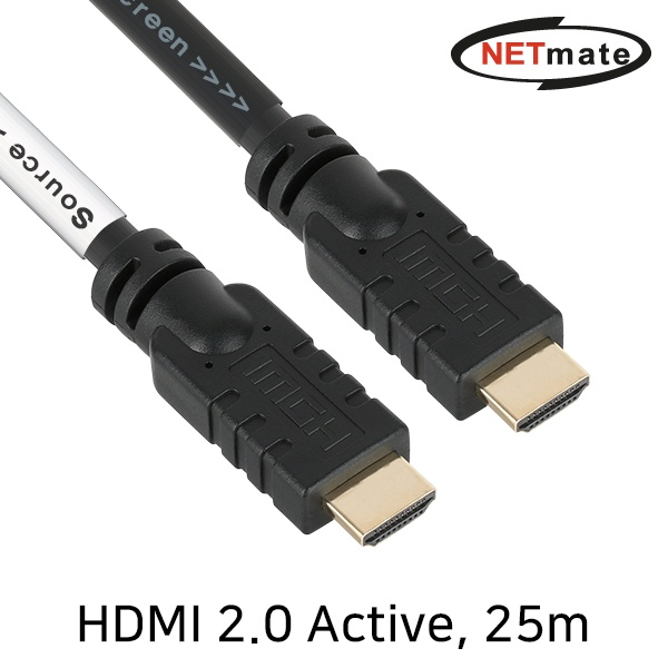 NETmate HDMI Active 케이블 [Ver.2.0] 25M [NMC-HA25Z]