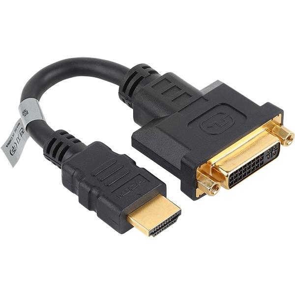 NETmate HDMI to DVI-I 변환젠더 0.15M [NMG004]