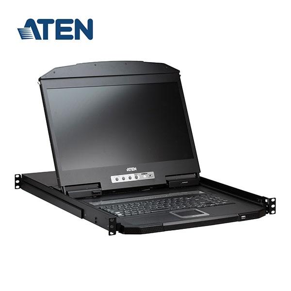 에이텐 18.5인치 LCD KVM 스위치 16:1 [CL3116NX]